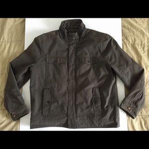Kenneth Cole New York Bomber Shell Jacket Sz Large